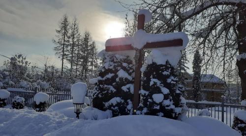 Klasztor zimą 2021