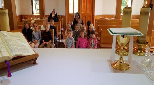 Msza święta na rozpoczęcie roku szkolnego z udziałem dzieci