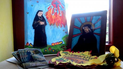 Prace z konkursu o św. Faustynie